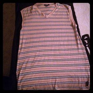 Sleeveless Burberry shirt